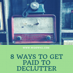8 Ways to Get Paid to Declutter