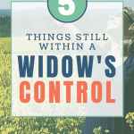 Things Within a Widow's Control
