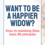 Want to Be a Happier Widow Pin