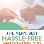 Negotiation Tips for Widows Pin