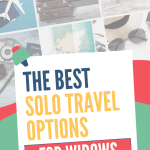 Solo Travel for Widows Pin