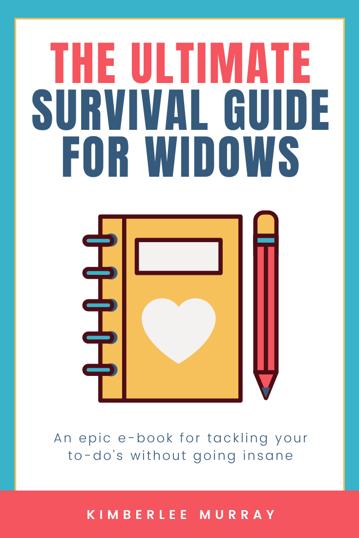 The Ultimate Survival Guide for Widows Workbook